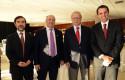 Cristián Echeverría, Adam Berman, Fernán Ibáñez y Rodrigo Castro