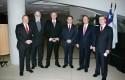 Alfonso Mujica, Eduardo Aninat, Federico Valdés, Luis Felipe Céspedes, Andrés Vial y Joaquín Lavín