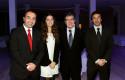 Rodrigo Arellano, Andrea Mackenney, Joaquín Lavín y Álvaro Vial