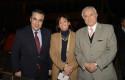 Claudio Muñoz, Carolina Mardones y Fernando Bustamante