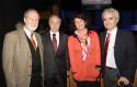 Gerardo Jofre, Hernán Cheyre, Luz María Budge y Ricardo Paredes