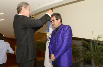Ceremonia nombramiento profesor honorario