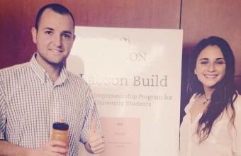 Alumno emprendedor de Ingeniería Comercial ganó Beca Babson Build
