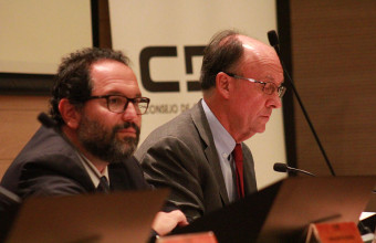 Cristián Larroulet participa en seminario jurídico internacional con el que CDE conmemoró sus 120 años