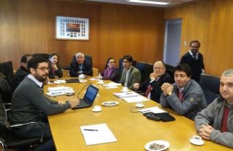 Centro de Investigación de la Empresa (CIE) presenta ante CORE del Biobío investigación sobre cambio climático