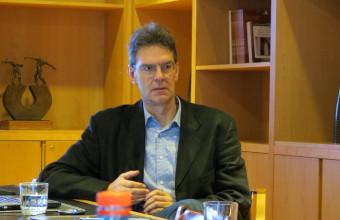 Rolf Sternberg, de la Universidad de Hannover, presentó su trabajo sobre emprendimiento en workshop UDD