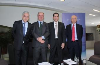 Sebastián Piñera presente en la UDD por lanzamiento de Cátedra Adam Smith