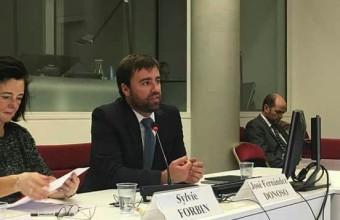 Investigador UDD presenta en conferencia sobre desarrollo digital y propiedad intelectual en la WIPO (Ginebra)