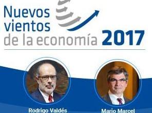 Ministro de Hacienda participará en seminario Nuevos Vientos de la Economía 2017