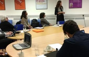 Investigadora UDD gana fondo de la Universidad de Brown y protagoniza workshop en Reino Unido