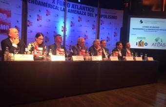 Cristián Larroulet participó en lanzamiento del libro sobre populismo latinoamericano compilado por Álvaro Vargas Llosa