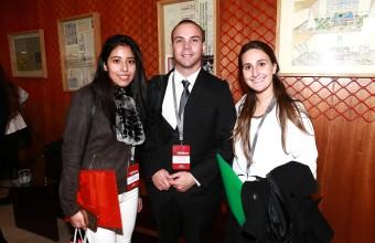 Más de 170 alumnos de Ingeniería Comercial participaron de la XII versión de la Feria Laboral Co-Educación