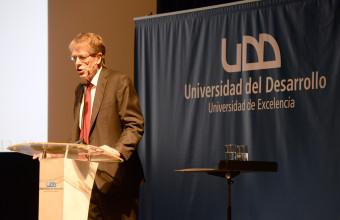 Premio Nobel de Economía 2013, Lars Peter Hansen, participó en Seminario MBA UDD