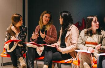 Egresadas de la FEN participaron en sesión de networking y marca personal