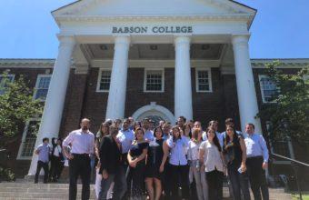 Alumnos del MBA viajan a Babson College
