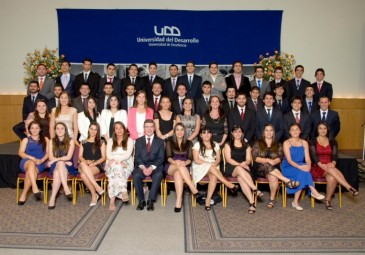 Ceremonia de titulación Ingeniería Comercial Concepción