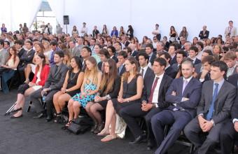 Ceremonia de titulación Ingeniería Comercial Santiago