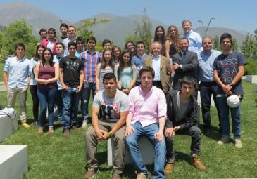 CdE de Concepción participan de jornada de emprendimiento en Santiago