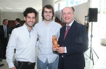 Vicente O'Ryan recibió el Premio al Espíritu Emprendedor 2016