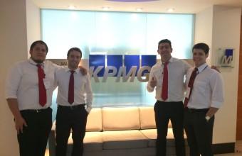 Alumnos ICO UDD participaron de desafío en KPMG