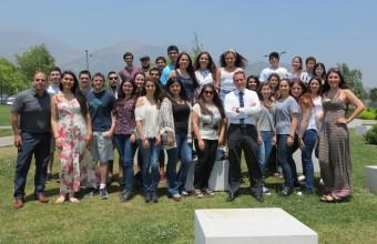 Club de Emprendedores de Concepción visitó el Campus Santiago