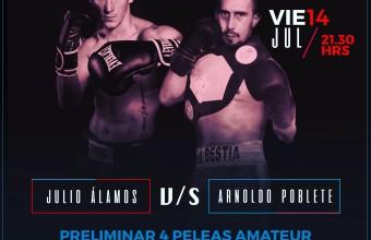 Julio Álamos disputa hoy el Título de Chile en la categoría Súper Mediano