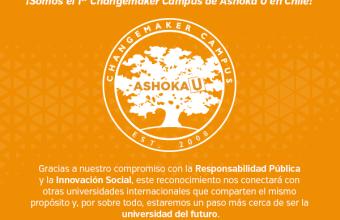 UDD es designada primer Changemaker Campus de Ashoka en Chile