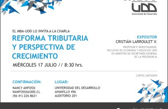 CONCEPCIÓN 17 de julio / Charla Reforma Tributaria